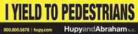 I Yield Bumper Sticker