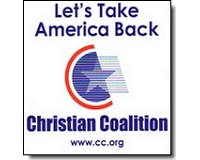 free christian coalition decal